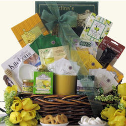 Tea Treasures Extra Large Gourmet Tea Gift Basket