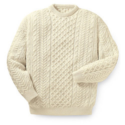 Merino Wool Aran Bann Sweater