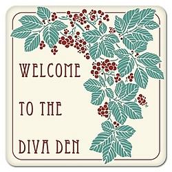 Refined Diva Den Coasters