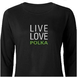 Live Love Polka Women's Long Sleeve T-Shirt