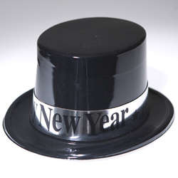 """Happy New Year"" Top Hat"