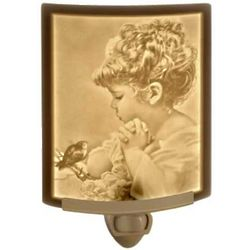 Child and Songbird Night Light