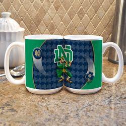 Notre Dame Mascot Mug Set