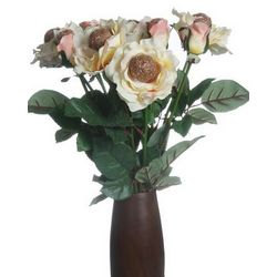 8 Stem Anniversary Just Bronze Roses