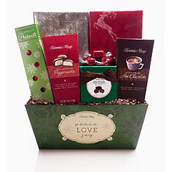 Peace, Love and Joy Gift Basket
