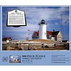 Nobska Lighthouse Jigsaw Puzzle