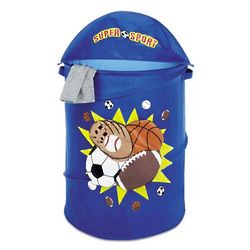 Sport Themed Kid's Collapsible Laundry Hamper