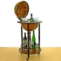 Small 16th-Century Italian Replica Globe Bar