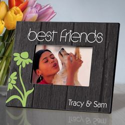 Personalized BFF Dancing Daisies Picture Frame