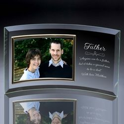 Personalized Father Horizontal 4x6 Photo Frame
