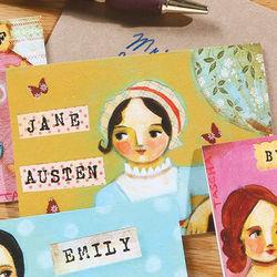 Jane Austen Literary Ladies Mini Notes