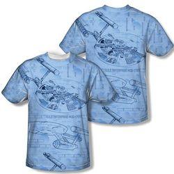 Star Trek Enterprise Blueprint T-Shirt