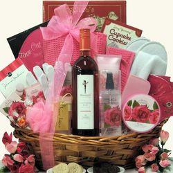Skinny Girl Rose Spa Haven Mother's Day Gift Basket