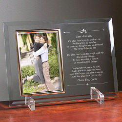 I'm Glad There's You Personalized Frame