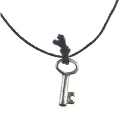 Key to Success Charm Necklace