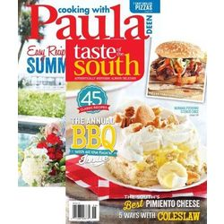 Cooking with Paula Deen/Taste of the South Magazine Subscriptions