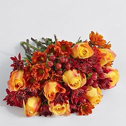 Fall Rose Centerpiece Bouquet