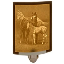 Night Noises Lithophane Horse Night Light