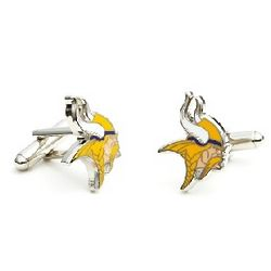Minnesota Vikings Enamel Cufflinks