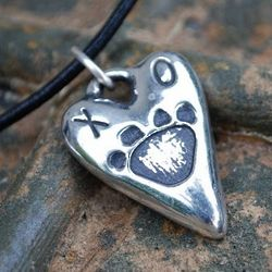 Rescued & Loved Necklace or Collar Charm