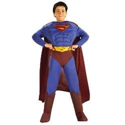 Medium Deluxe Muscle Chest Superman Costume