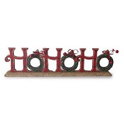 Ho Ho Ho Mantel Decor