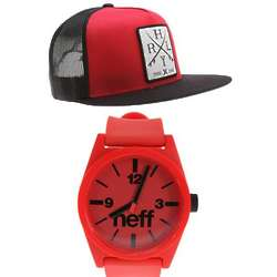 Blood Water Watch and Cap