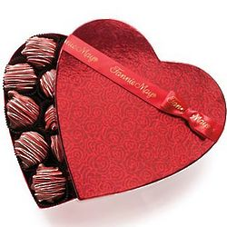 Fannie May Pixies Heart Gift Box