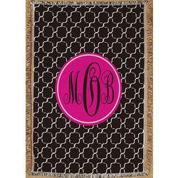 Monogram Madness Throw Blanket
