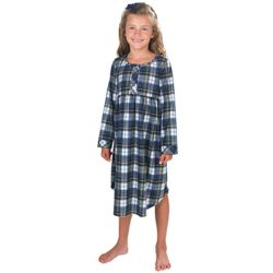 Girl's Tartan Plaid Gown
