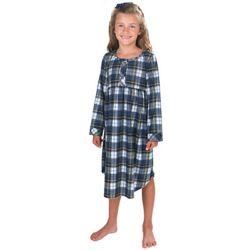 Girl's Tartan Plaid Gown