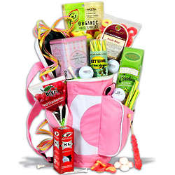 Women's Candy and Snacks Golf Gift Basket