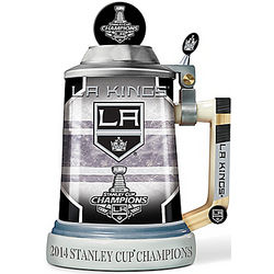 Los Angeles Kings 2014 Stanley Cup Champions Commemorative Stein