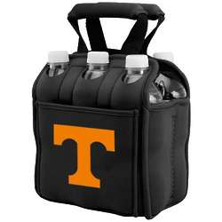 Tennessee Volunteers Black 6-Pack Neoprene Cooler