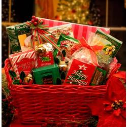 A Holiday Classic Christmas Gift Basket