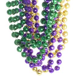 Mardi Gras Disco Ball Beads