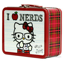 Hello Kitty 'I Love Nerds' Lunch Box