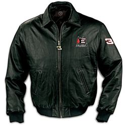 Dale Earnhardt Forever The Man Commemorative Leather Jacket