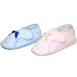 Edema Velcro Brand Ladies Solid Booties