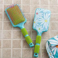 Daisies Paddle Hair Brush