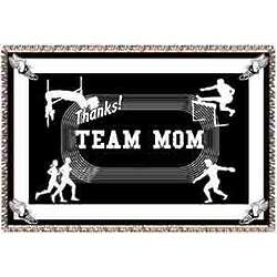 Thanks Team Mom Track and Field Afghan
