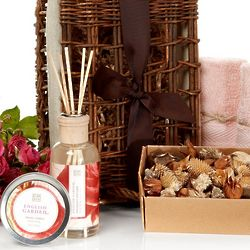 Rose Petal Calming Spa Basket