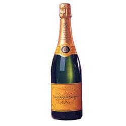 Veuve Clicquot Ponsardin Orange Yellow Label Champagne