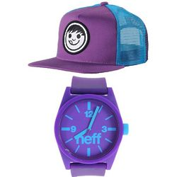 Purple Kush Cap and Watch Set