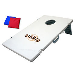 San Francisco Giants Cornhole Toss Bean Bag Game