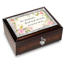 Granddaughter Sunshine of My Life Personalized Music Box