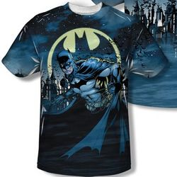 Batman All-Over Design T-Shirt