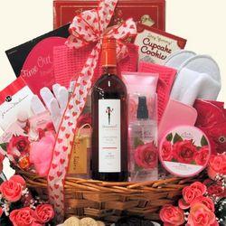 Skinny Girl Rose Spa Haven Valetine's Day Spa Gift Basket