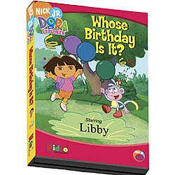 dora the explorer personalized birthday dvd   findgift
