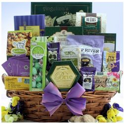 Indulge & Delight Mother's Day Snacks & Sweets Gift Basket